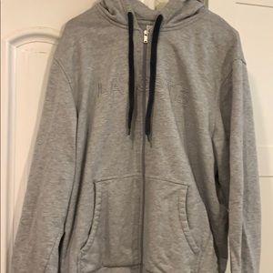 Men's Lacoste gray hoodie